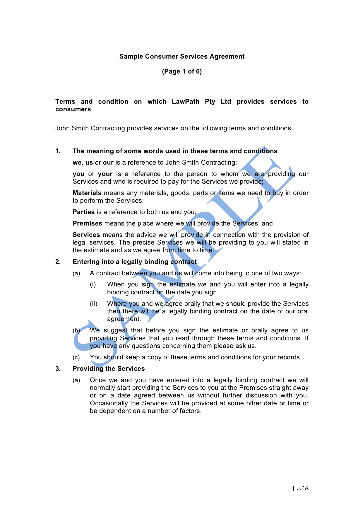 Non Disclosure Agreement One Way Free Template Sample